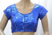 Blue Sequence Readymade Blouse