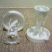 Plastic Flower Caps