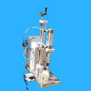 Pneumatic Perfume Bottle Crimping Machine