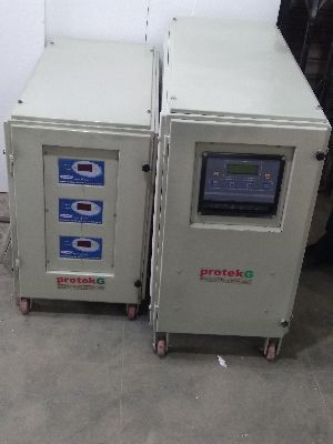protekG 3PH 3Ph Aircooled Servo Voltage Stabilizer 7.5 KVA to 75 KVA