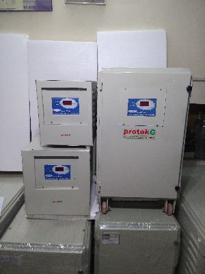 Single Phase Servo Voltage Regulator