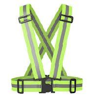 reflective safety belt