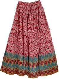 Cotton Long Skirts