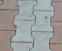interlocking cross dumble pavers
