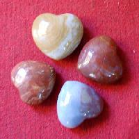 Agate Fancy Heart Stones