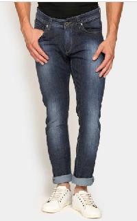 Spykar Men Navy Blue Skinny Fit Jeans