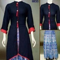 Salwar Kameez with Skirt