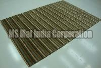 Brown Handloom Woolen Carpet