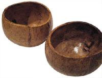 Polished Round Coconut Shell Cup
