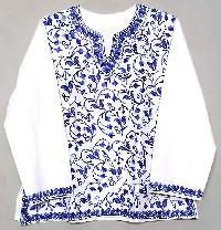 Ladies Kashmiri Embroidered Kurtis