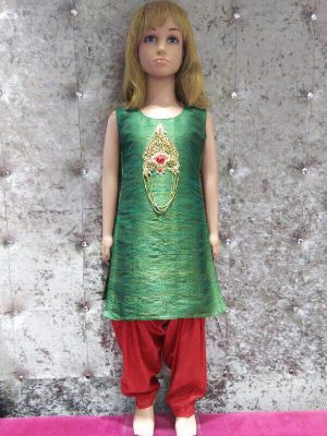 Kids Punjabi Patiyala Suits