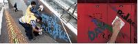 Anti-graffiti Powder