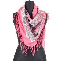 Square Fringed Scarf