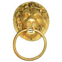 Door Hardware fitting Lion face knocker