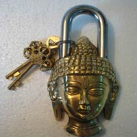 Brass Buddha Door Locks