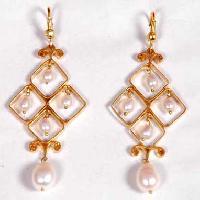 Pearl Brass Jewelry