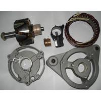 End Plate,stator,rotor,carbon Brush Holder