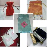 Embroidered Gift Pouches
