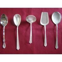 Silver Service Spoon
