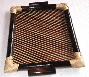 Hand made Bamboo Tray.