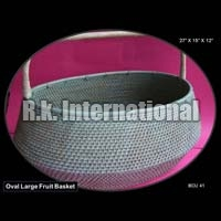 Oval Cane Basket