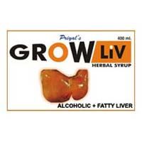 Grow Liv Alcoholic Fatty Liver Syrup