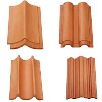 Building Material Burnt Red Clay Bricks Ceiling Clay Tiles