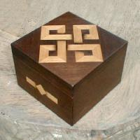handcrafted decorative wooden boxes
