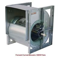 Forward Curved Blower, Didw Fans