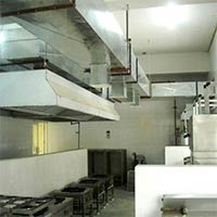 Kitchen Hood Ducting System