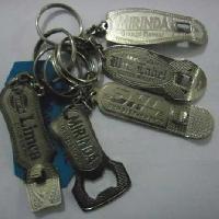 Silver Opner Key Chain