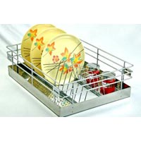 Perforted Sheet Thali Basket