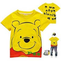 Kids cotton pique soft washed t-shirts