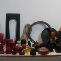Rubber Molded Components, Plastic Molded Components