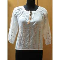 Cotton Voile Blouse