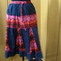 Cotton Voile Mini Skirt