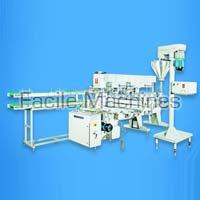 Auger Filler Automatic Lined Carton Packing Machine
