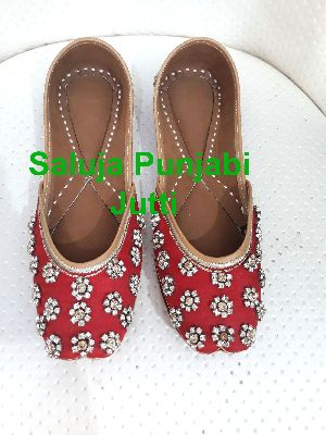 Indian Beaded Shoes