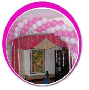 Party balloons manufacturers suppliers exporters in india for Balloon decoration in pune