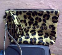 Ladies Zip Top Clutch Bags