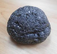 raw black coal