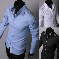 Mens Casual Cotton Shirt