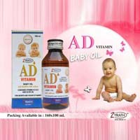 Ad Vitamin Baby Oil
