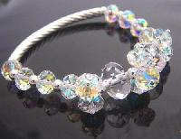 Crystal Beaded Bangles