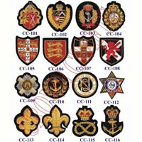 Embroidered Badges