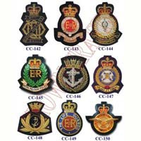 Embroidered Bullion Badges 04