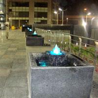 Bubbler Jet Fountains
