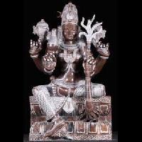 Black Marble Lord Kamatchi Statue