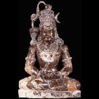 Meditating Lord Shiva Statue