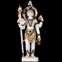 White Marble Lord Shiva Statues